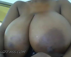 Huge Chocolate Titties Kat08